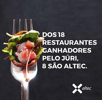 Dos 18 Restaurantes Ganhadores pelo Júri, 8 São Altec